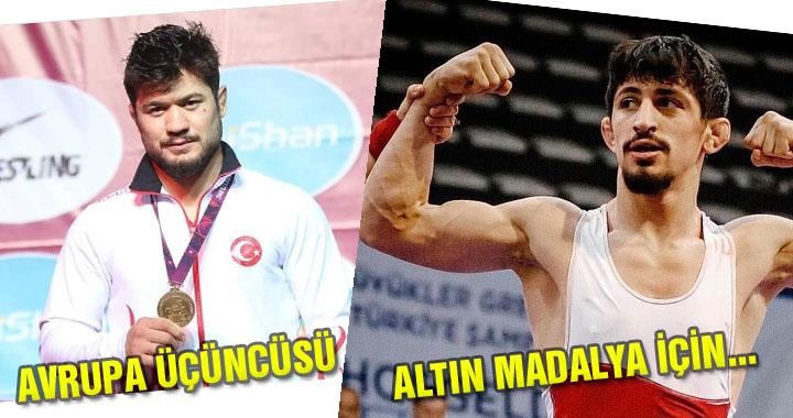 Akhisarlı güreşçimiz Ali Cengiz Avrupa üçüncüsü oldu
