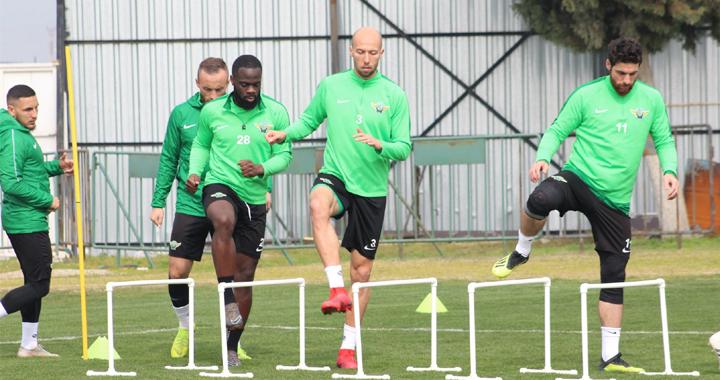 Akhisarspor, Trabzonspor maçı hazırlıklarına başladı