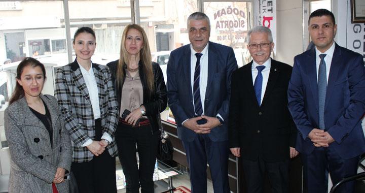 Hüseyin Eryüksel, Milletvekili Semra Kaplan Kıvırcık ile beraber destek istedi