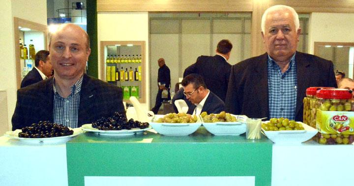 Can Zeytinleri, Olivtech zeytin ve zeytinyağı fuarında