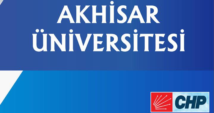 Dutlulu; Hedefimiz Akhisar Üniversitesi