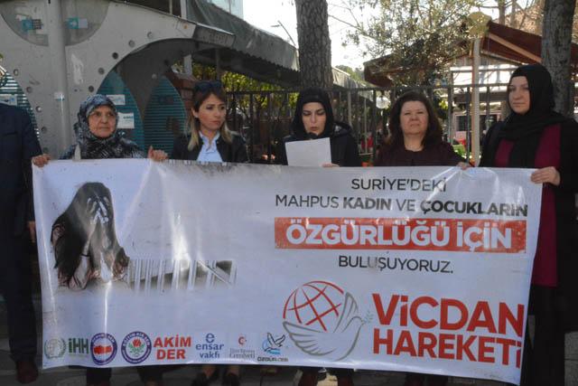 Vicdan hareketi, Suriyeli mahpus kadınlar için açıklama yaptı