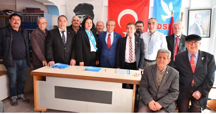31 Mart'ta yapılacak olan yerel seçimlerde demokratik sol parti (DSP) ittifaksız yarışacak