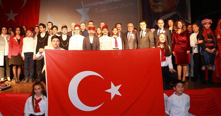 Akhisar'da İstiklal Marşı'nın kabulünün 98.yılı ve Mehmet Akif Ersoy anma programı