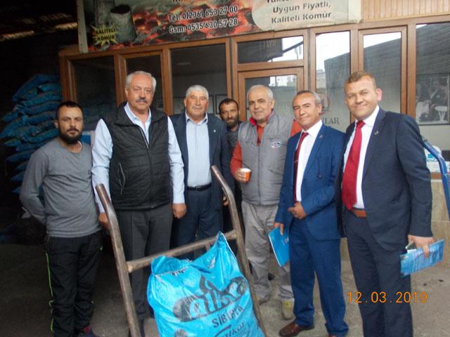 DSP adayları Gündüz ve Arat çalışmalarını sürdürüyor