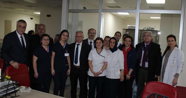 Hüseyin Eryüksel, 14 Mart Tıp bayramını kutladı