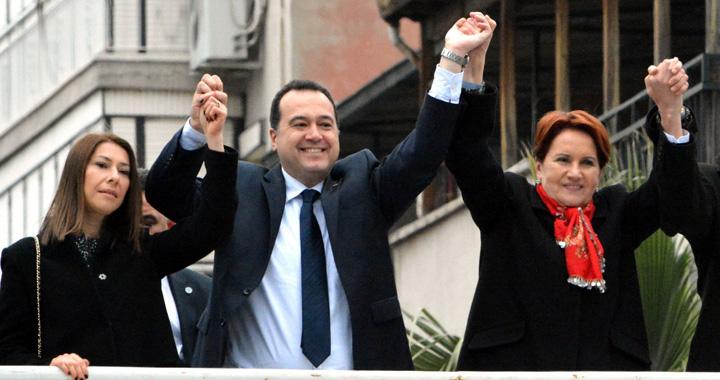 İYİ Parti Genel Başkanı Meral Akşener Akhisarlılara seslendi
