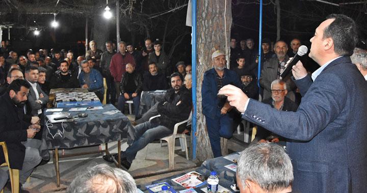 Millet ittifakı Adayı Besim Dutlulu'dan Akselendi çıkartması