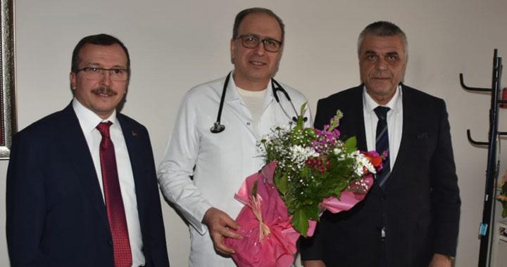 Hüseyin Eryüksel'den Özel Akhisar Hastanesine ziyaret