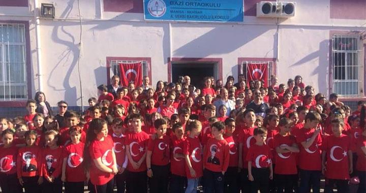 A.Vehbi Bakırlıoğlu İlkokulu'ndan muhteşem 18 Mart Programı