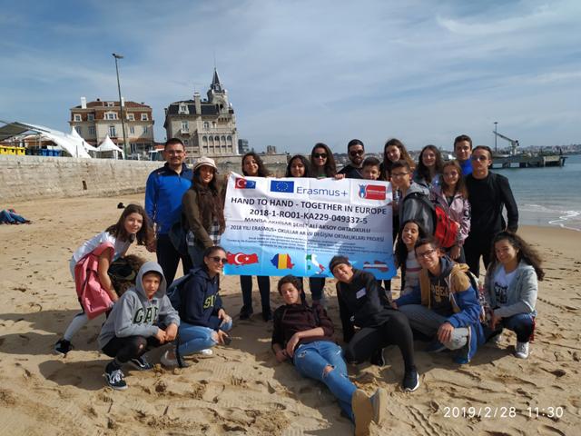 Şehit Ali Aksoy Ortaokulunda Erasmus hareketliliği