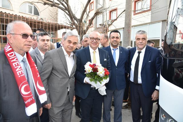 Cengiz Ergün'den STK ziyaretleri