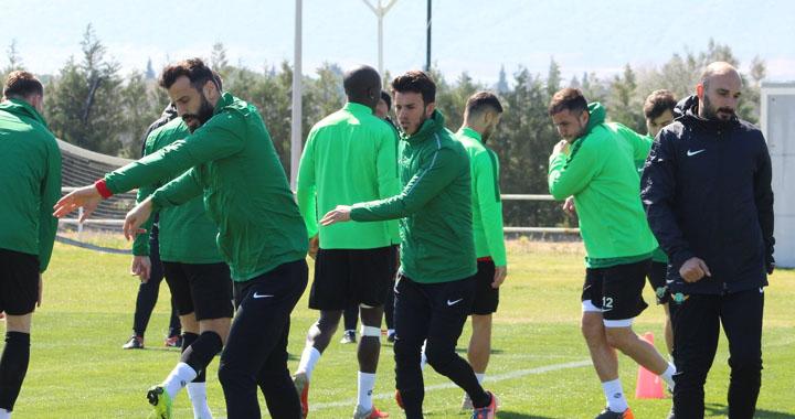 Akhisarspor'da kupa maçı hazırlıkları