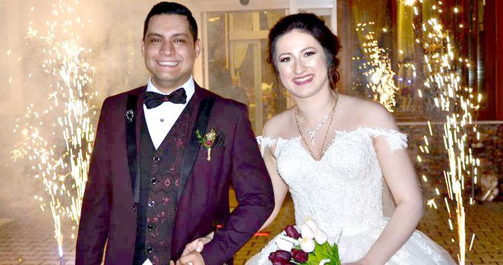 Esma ile Mehmet'in en mutlu günü