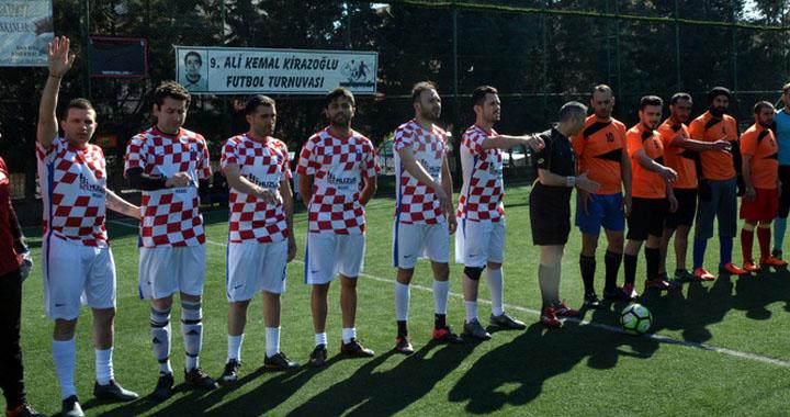 9. Ali Kemal Kirazoğlu, Halı Saha Futbol Turnuvası Başladı