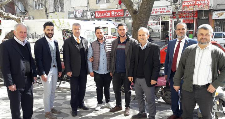 Sp Başkan Adayı Ali Dursun, esnaftan destek istedi