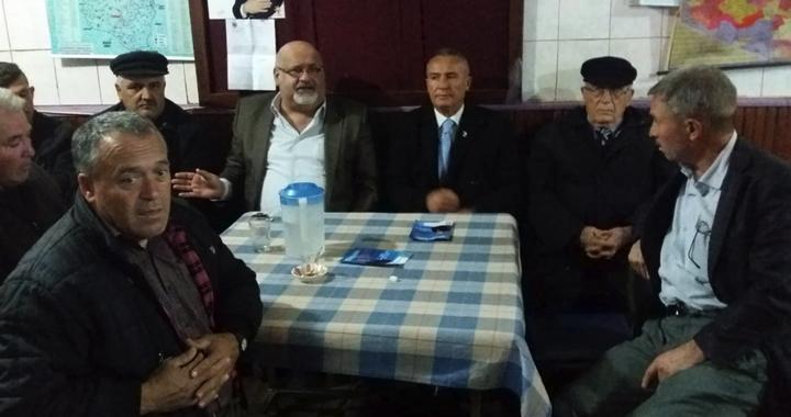 DSP'li adaylar vatandaşlardan destek istedi