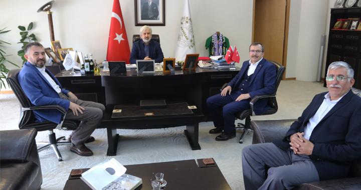 Milletvekili Uğur Aydemir'den Salih Hızlı'ya teşekkür ziyareti