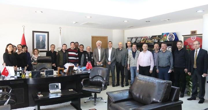 Akhisar Belediye Başkanı Salih Hızlı'ya teşekkür ziyaretleri