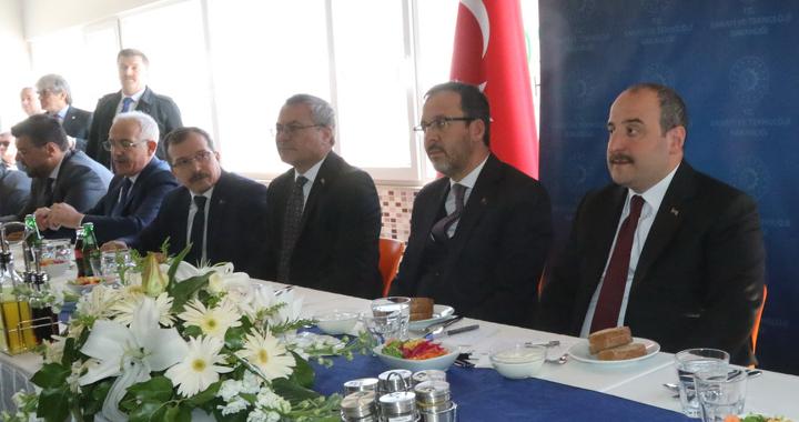 Bakan Kasapoğlu ve Varank Akhisar'dan seslendi