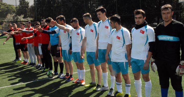 Kirazoğlu, halı saha futbol turnuvasında ikinci hafta