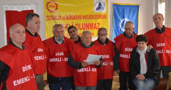 Çerkezoğlu'na yapılan haksız ve adaletsiz suçlamayı kınadılar
