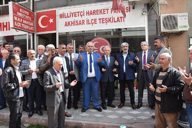 Alparslan Türkeş, vefatının 22. Yılında Akhisar'da anıldı