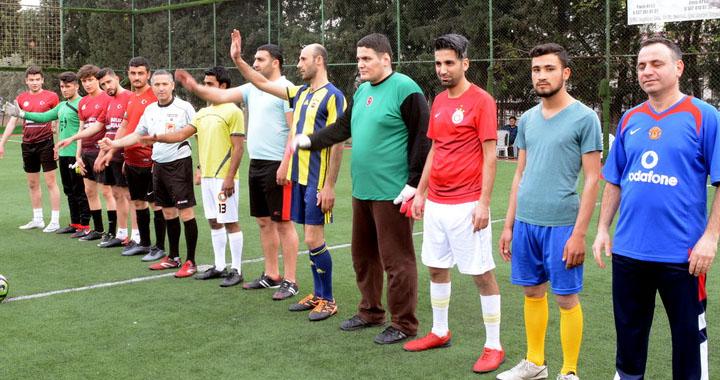 Kirazoğlu, halı saha futbol turnuvasında üçüncü hafta