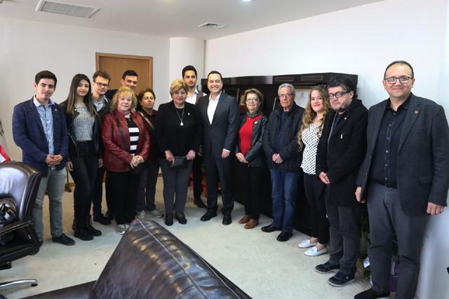 Atatürkçü Düşünce Derneğinden, Belediye Başkanı Besim Dutlulu'ya ziyaret