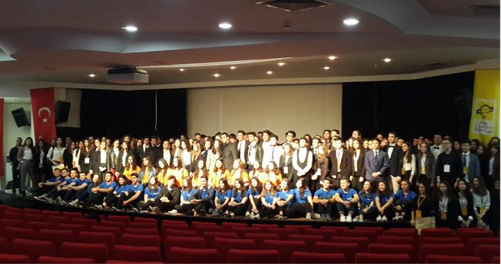 Ülkü Ortaokulu Ulusal Eğitim forumu ÇAKUF 2019'da