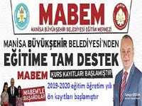 MABEM YKS-LGS ön kayıtları devam ediyor