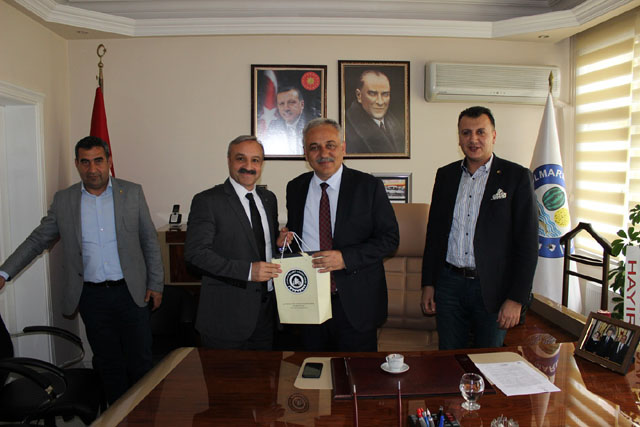ATSO'dan Kamil Öz'e tebrik ziyareti