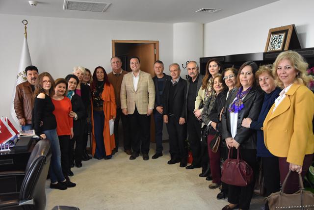 ASDER, Belediye Başkanı Besim Dutlulu'ya ziyaret