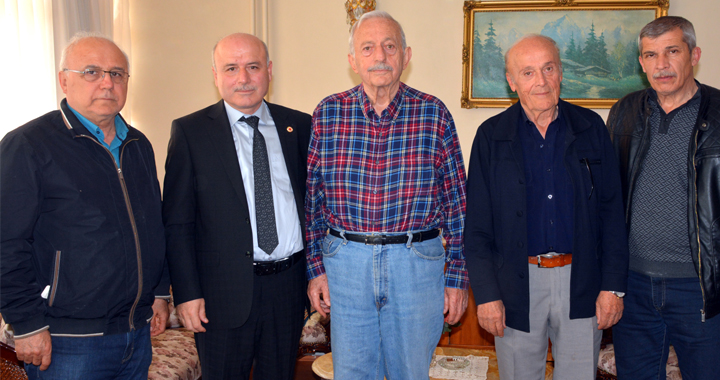 TÜRFAD, Mimar Yılmaz Atabarut'u ziyaret etti