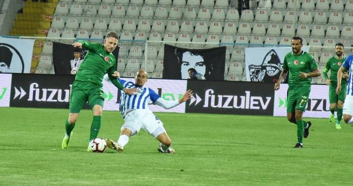 Akhisarspor, BB Erzurumspor'a 2-1 mağlup oldu