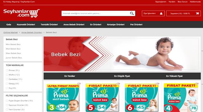 En Ucuz Bebek Bezi Fiyatları | www.seyhanlar.com