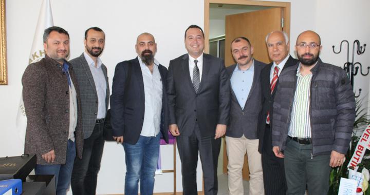 Özel Akhisar Eksen Eğitim Kurumlarından Akhisar Belediye Başkanı Dutlulu'ya Ziyaret