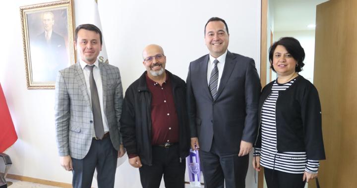 Özel Doğuş Hastanesi, Akhisar Belediye Başkanı Besim Dutlulu'yu ziyaret etti