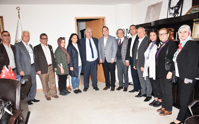 MHP Teşkilatından Dutlulu'ya ziyaret