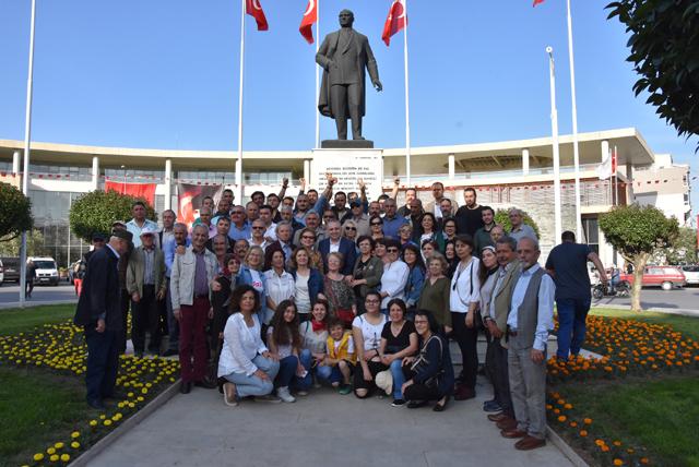 CHP İlçe teşkilatından 1 Mayıs basın açıklaması