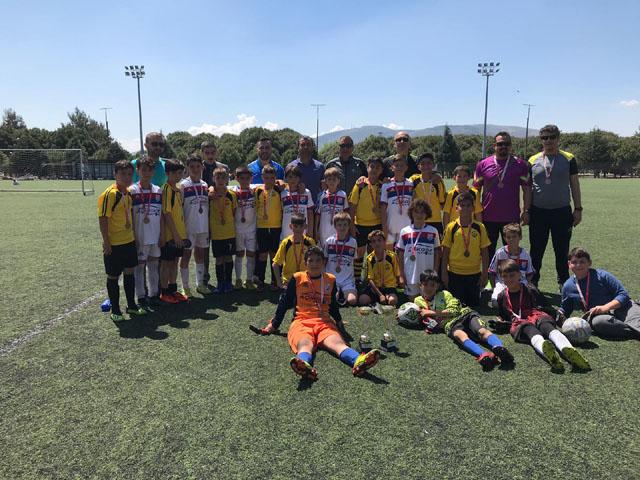 Küçük Erkekler futbolda heyecan sona erdi