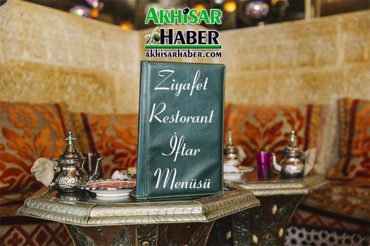 Ziyafet Restorant iftar menüsü