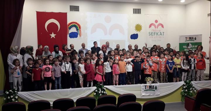 Özel Şefkat Okullarında TEMA Vakfı gönüllüsü programı düzenlendi
