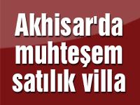 Akhisar'da muhteşem satılık villa