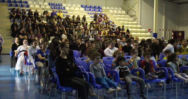 Zeynep Gülin Öngör MTAL'de dünya engelliler haftası etkinlikleri