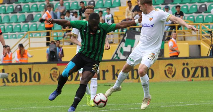 Akhisarspor, evindeki son Süper Lig maçında berabere kaldı