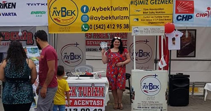 Aybek Turizm, Çağlak Festivalinde gezi severleri bekliyor