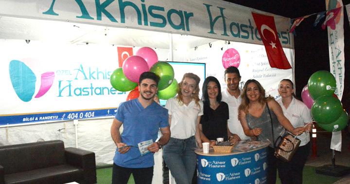 Özel Akhisar Hastanesi, Çağlak Festivalinde yerini aldı