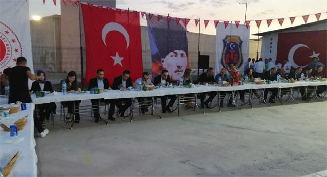 Akhisar Açık Ceza İnfaz Kurumu'nda iftar organizasyonu