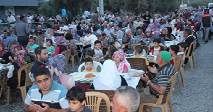 263 sokakta eski ramazanlar coşkusu yaşandı